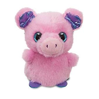 "Aurora Sparkle Tales Primrose Pig Mini 4"" Soft Plush Cuddly Toy Pink"