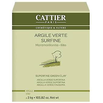 Cattier Superfijne groene klei 3 kg