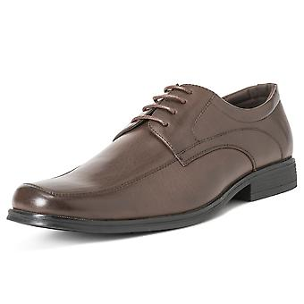 Mens Queensberry Francis Leather Office Work Smart Formal Wedding Shoes UK 6-14