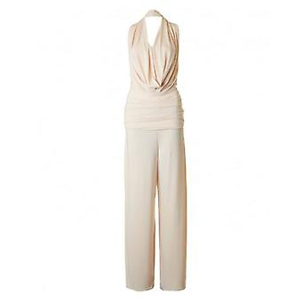 Dare Label Cowl Neck Wide Leg Jumpsuit