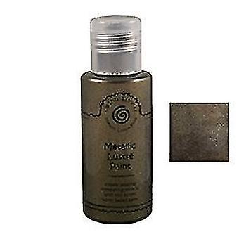 Cosmic Shimmer Metallic Lustre Acrylic Paint 50ml - Golden Midnight