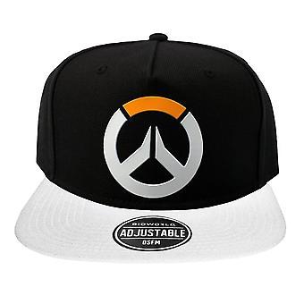 Overwatch, SnapBack lippis-logo, musta/valkoinen