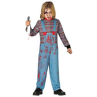 Jongens Chucky Halloween Fancy Dress Kostuum