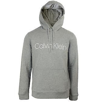 Calvin Klein Men ' s Mid Grey Heather logo huppari