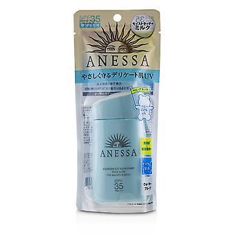 Anessa essence uv sunscreen mild milk (for sensitive skin) spf35 pa++++ 234736 60ml/2oz