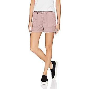 Brand - Daily Ritual Kvinnor's Tencel Patch-Pocket Short, Dusty Rose, 16