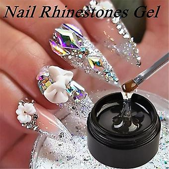 Nail Art Strass Gel Kleber Super Sticky Kleber Uv Gel Nagel lackieren Kleber