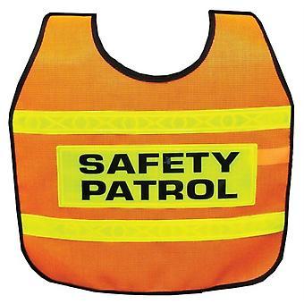 SF220P, Ultra Reflective Safety Patrol Cape - Adulto