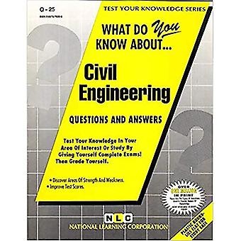 What Do You Know about Civil Engineering