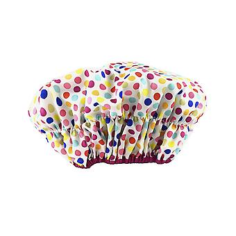 Betty Dain Fashionista Collection Mold Resistant Lined, Deco Dots, Size 2.8