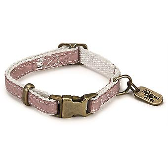Designed By Lotte Nylon Collar - Virante Light Pink - 10mm x 20- 30cm