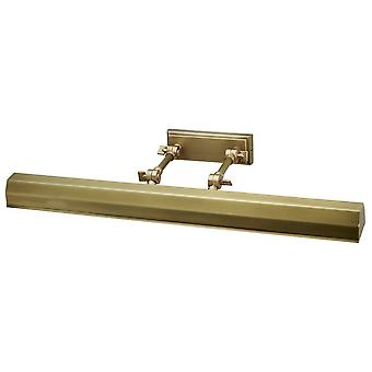 4 Light Large Picture Wall Light Brass, E14