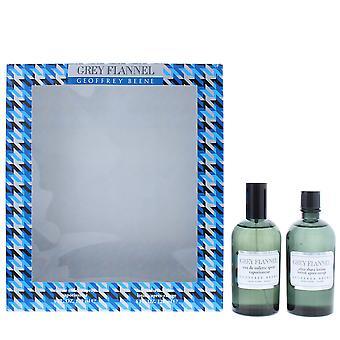 Geoffrey Beene Grey Flannel Eau de Toilette 120ml & After Shave Lotion 120ml Set