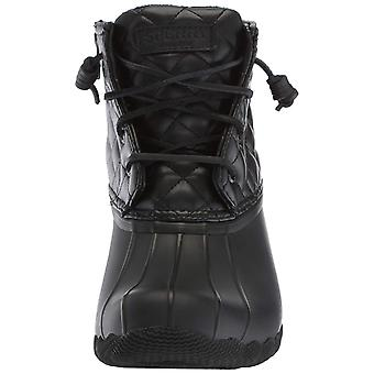 Sperry Womens Saltwater Quilt Fabric Cap Toe Ankle Rainboots