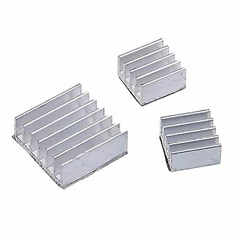 30pcs Raspberry Pi-3, Heatsink Fans Pure Aluminum Heat Sink, Cooling Cooler
