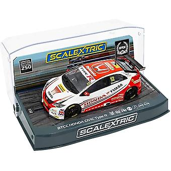 Scalextric C3783SE BTCC Anniversario Edizione Speciale Honda Civic Type R (Gordon Shedden)