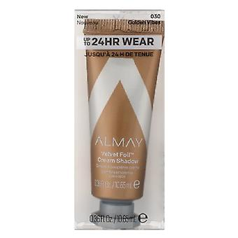 Almay Velvet Foil Cream Shadow 0.36mL, Vibes d'or 030