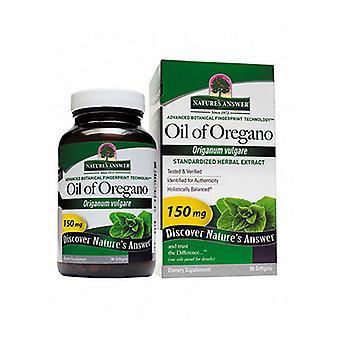 Nature's Answer Oil Of Oregano, 90 Sftgls