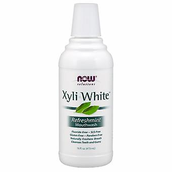 Now Foods Xyliwhite Refreshmint Mouthwash, 16 FL OZ