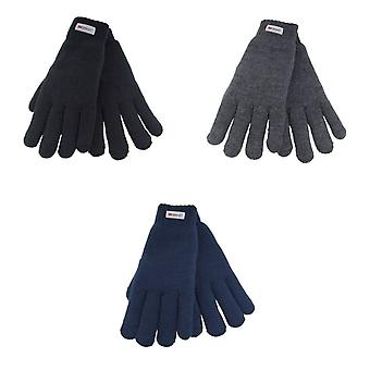 Heatguard Womens/Ladies Thinsulate Knitted Gloves