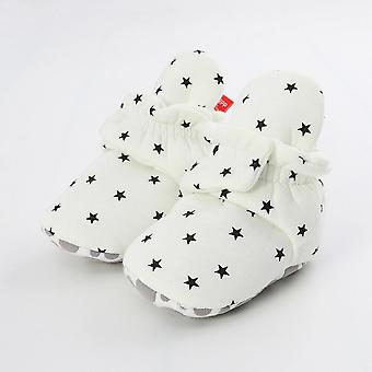 Newborn Baby Socks Shoes,, Star Toddler First Walkers Booties Cotton Soft