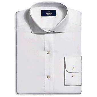 BUTTONED DOWN Männer's klassische Fit Cutaway-Collar nicht-Eisen Kleid Shirt (Tasche) ,...