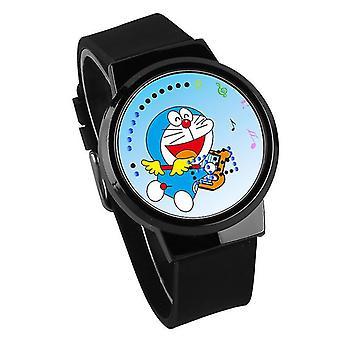 Vízálló világító LED Digital Touch Gyermekek watch - Doraemon #23