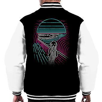 Neon Scream Screaming Men's Varsity Takki