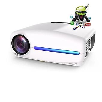 Proyector Led Full Hd, Video Brand Beamer, Home Cinema Wifi Opcional