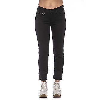 Women's Black Care Label Jeans