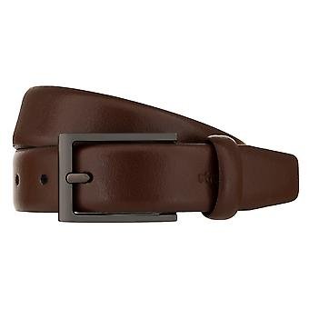 Strellson Belt Men's Belt Leather Belt Brandy 2304