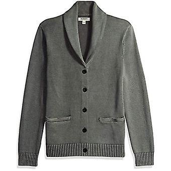 Marke - Goodthreads Men's weiche Baumwolle Schal Strickjacke Pullover, gewaschen G...
