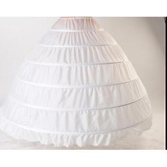 Vanteet alushameet, Bustle Pallo, Puku hääpuvut, Underskirt Bridal