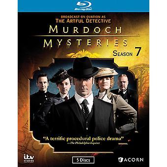Murdoch mysterier: Sæson 7 [BLU-RAY] USA importerer