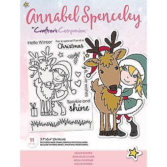 Crafter's Begleiter Annabel Spenceley Hallo Winter Briefmarken