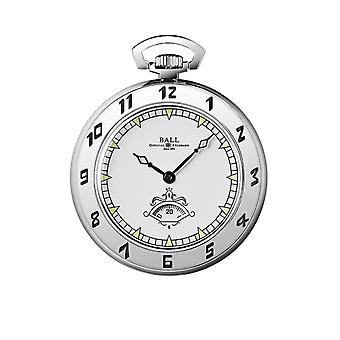 Ball PW1098E Trainmaster Secometer Pocket Watch