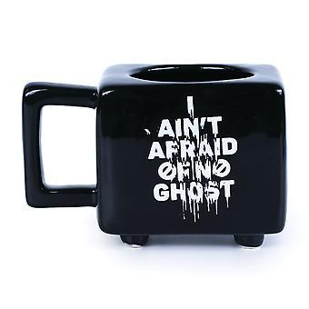 Cazafantasmas I Aint Afraid Heat Changing Mug