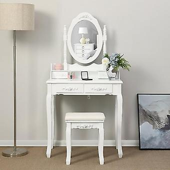 Dressing Table, Minimalist Bedroom Storage Cabinet & One Nordic Makeup / Home