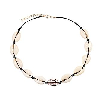 Seashell Non-fading Stainless Steel Animal Butterfly Star Gold Choker Necklaces