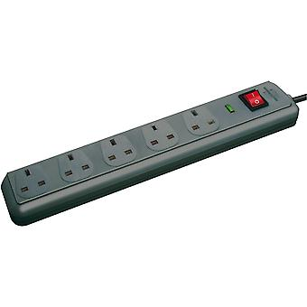 Brennenstuhl 1156753 Eco Line Extension Socket with Surge Protection 5 Way