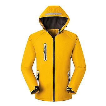 Outdoor wasserdichte Skijacke Windproof Snow Guard Ski Anzug Kapuze warm Fleece Liner Jacke wasserdicht winddichten Schneemantel