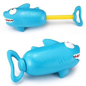 Piggy Shark Pump Pressure Water Cannon Children Beach Swimming Pool Water Toy Pump Pressure Water Gun