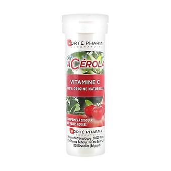 Acerola Tube 12 chewable tablets (Red Berries)
