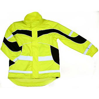 Equisafety взрослых унисекс легкий водонепроницаемый Привет Vis куртка