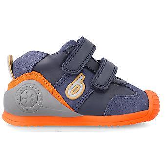 Biomecanics Boys 212151-A Trainers Blue Orange