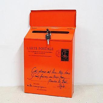 خمر المعادن صندوق البريد حالة القصدير صحيفة رسالة ماء صندوق البريد
