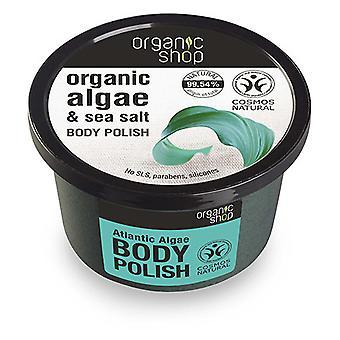 Organic Shop Exfoliante Corporal de Algas del Atlántico 250 ml