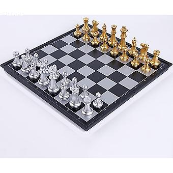 Magnetic Chess Checkers Foldable Chessboard
