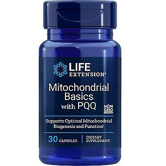 Noções básicas mitocondriais de extensão de vida com Caps PQQ 30