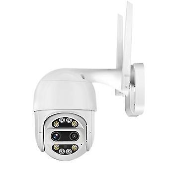 1080P HDワイヤレス屋内屋外PTZホームセキュリティカメラ